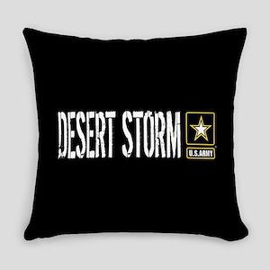 U.S. Army: Desert Storm (Black) Everyday Pillow