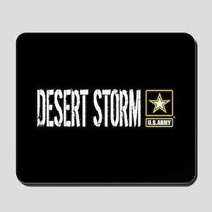 U.S. Army: Desert Storm (Black) Mousepad