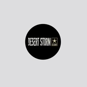 U.S. Army: Desert Storm (Black) Mini Button