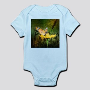 spring daisy yellow butterfly Body Suit