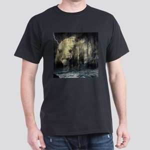 cabin rustic grizzly bear T-Shirt