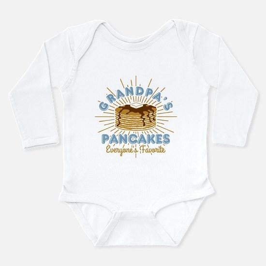 Grandpa's Pancakes Long Sleeve Infant Bodysuit