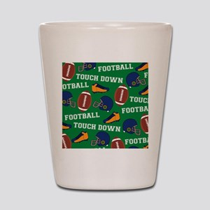 Football Collage Shot Glass