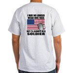 Double Sided (w/ Us Flag) Always A Soldier T-Shirt