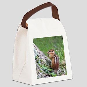 Cute Chipmunk Canvas Lunch Bag