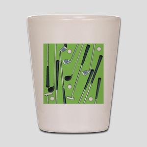 Golfing Shot Glass
