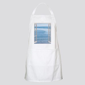 Ocean Scene Window Apron