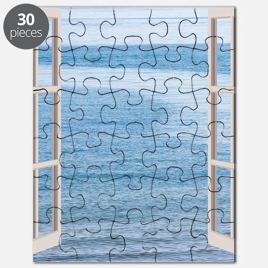 Ocean Scene Window Puzzle