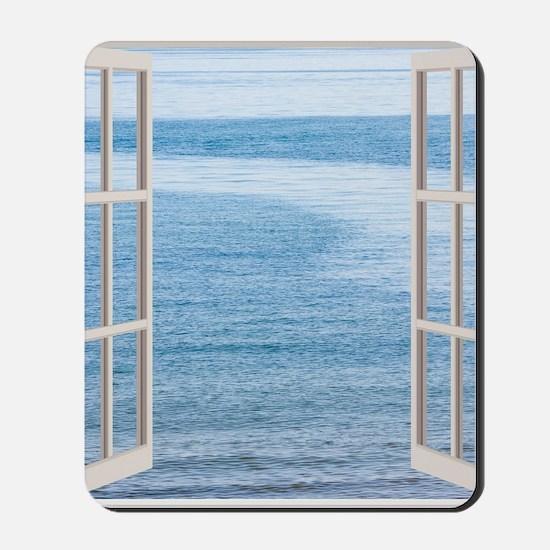 Ocean Scene Window Mousepad