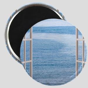 Ocean Scene Window Magnet