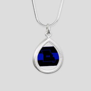Thin Blue Line - Missouri Necklaces