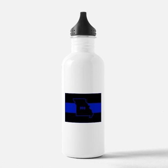 Thin Blue Line - Misso Water Bottle