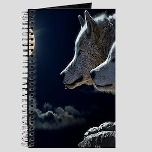 Full Moon Wolves Journal
