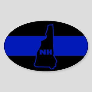 Thin Blue Line - New Hampshire Sticker