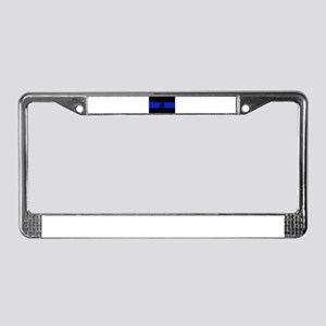 Thin Blue Line - New Hampshire License Plate Frame