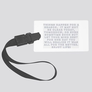 Realizations Luggage Tag