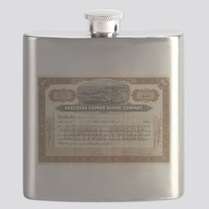 Anaconda Copper Mining Flask
