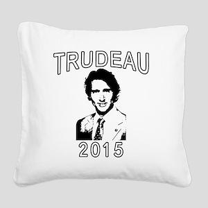 JUSTIN TRUDEAU 2015 Square Canvas Pillow