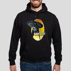 Star Trek Nemesis Enterprise 1701 D Hoodie