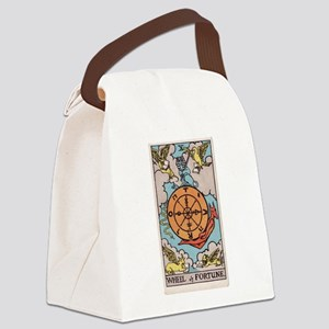 """""""Wheel of Fortune"""" Canvas Lunch Bag"""