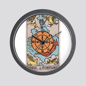 """""""Wheel of Fortune"""" Wall Clock"""