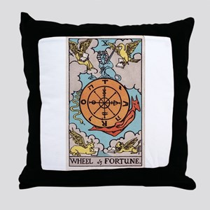 """Wheel of Fortune"" Throw Pillow"