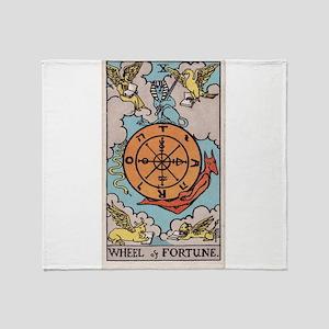 """Wheel of Fortune"" Throw Blanket"