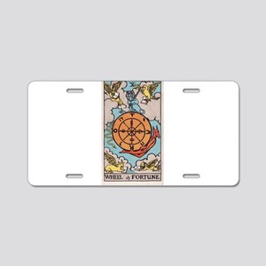 """Wheel of Fortune"" Aluminum License Plate"