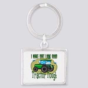 10x10_apparel tractortough copy Keychains