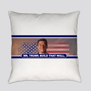 MR. TRUMP, BUILD THAT WALL Everyday Pillow