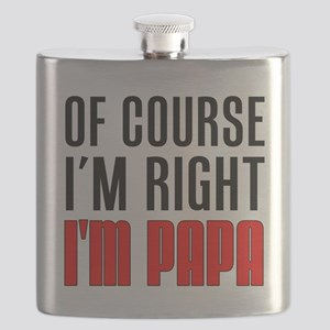 I'm Right Papa Drinkware Flask