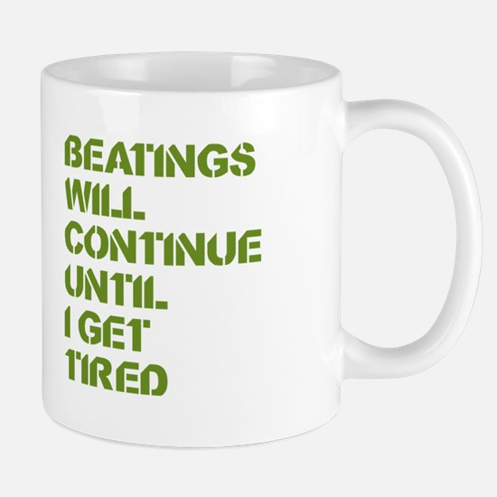 Beatings Mugs