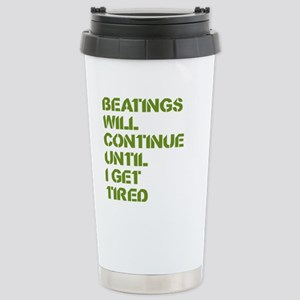 Beatings Stainless Steel Travel Mug