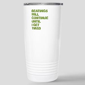 Beatings Stainless Steel Travel Mug