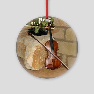 Grandpa's fiddle Ornament (Round)