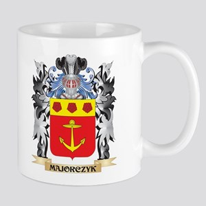 Majorczyk Coat of Arms - Family Crest Mugs