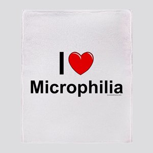 Microphilia Throw Blanket