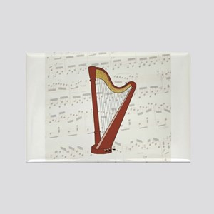Harp with Music Magnets