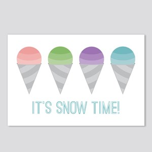 Snow Time Postcards (Package of 8)