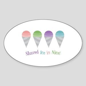 Shaved Ice Sticker