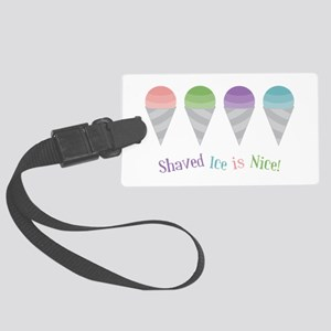 Shaved Ice Luggage Tag