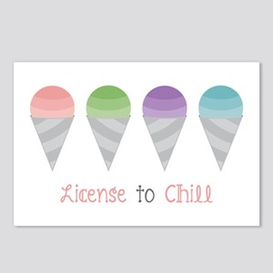 License To Chill Postcards (Package of 8)