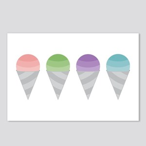 Sno Cones Postcards (Package of 8)