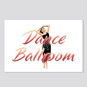 Dance Ballroom Postcards (Package of 8)