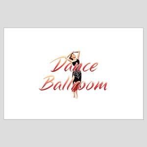 Dance Ballroom Large Poster