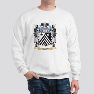 Maney Coat of Arms - Family Crest Sweatshirt