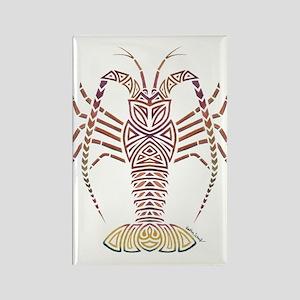 Tribal Caribbean Lobster Magnets
