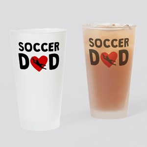 Soccer Dad Drinking Glass