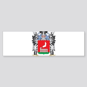 Mangeot Coat of Arms - Family Crest Bumper Sticker