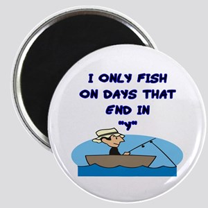 Fishing Days Magnet